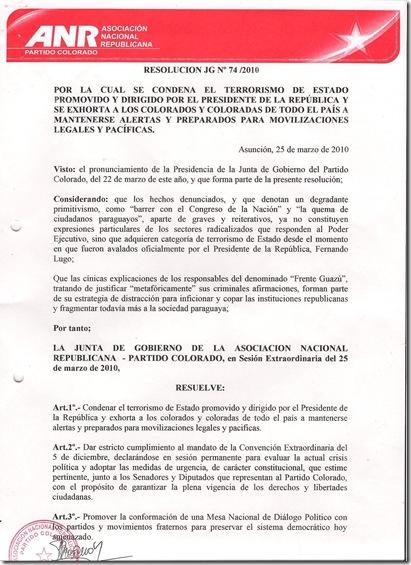 Resolución 77.1