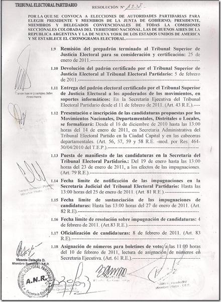 RESOLUCION 1238.-3