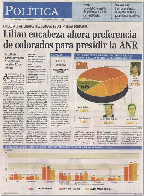 LA NACION 20-02-2011 PAG. 2