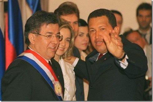 Nicanor y su mentor politico