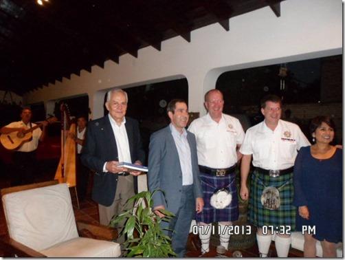 yo y el embajador jeremy hobbs y los britanicos
