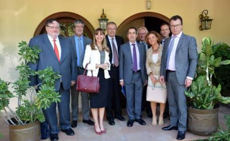 La ministra Carla Bacigalupo expuso sobre el Plan de Humanización de las Penitenciarías a los embajadores de la Unión Europea